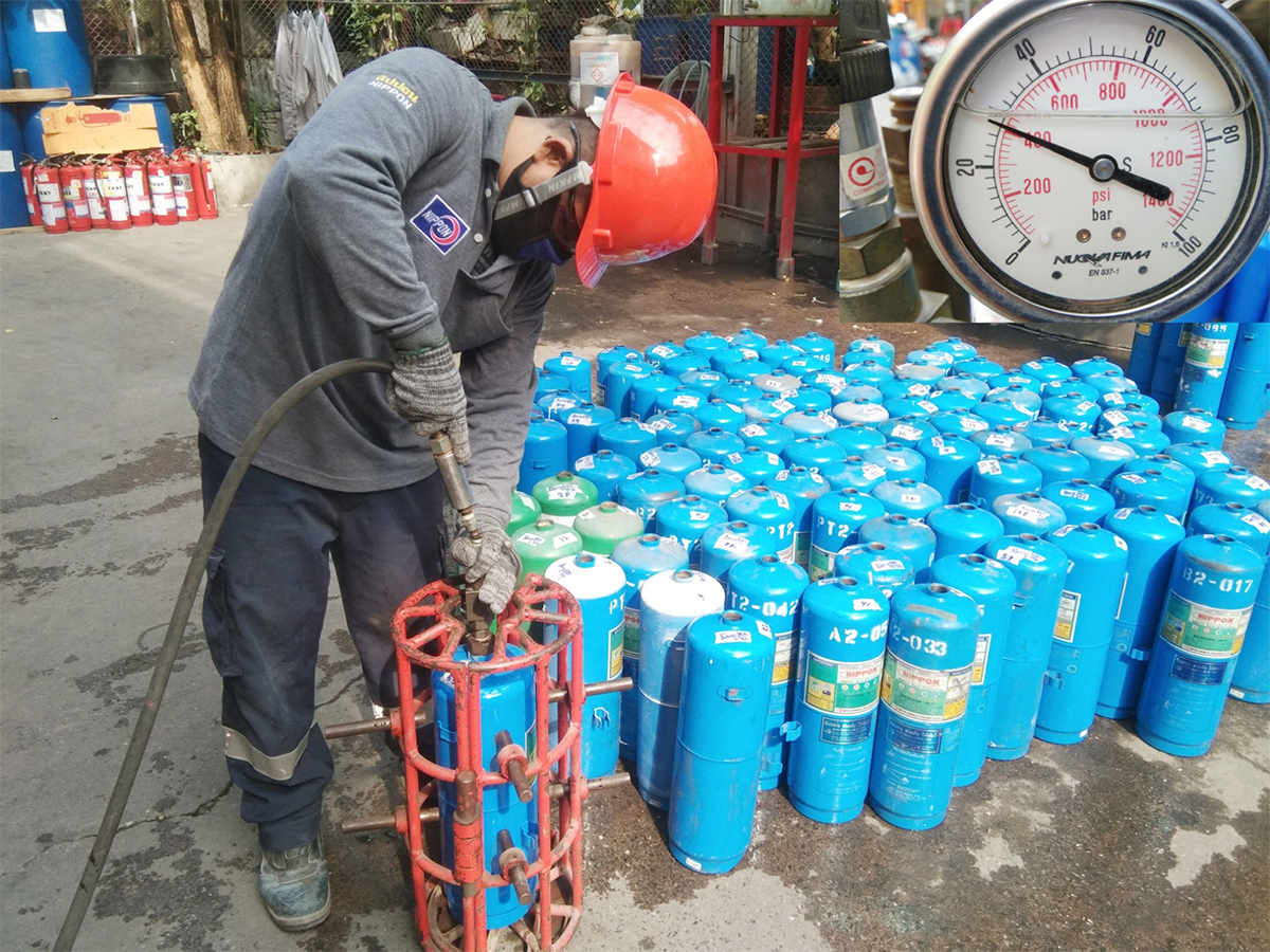 Fire Extinguisher Hydrostatic Testing